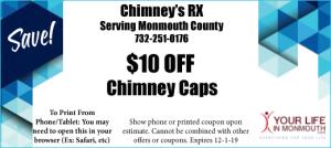 Chimneys RX Chimney cap coupon