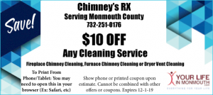 Chimneys rx monmouth county sweeps coupon
