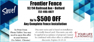 Frontier Fence Middletown NJ