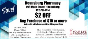 Keanburg Pharmacy coupon