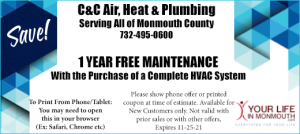 C&C Heating and Air Conditioning Middletown NJ