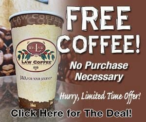 Free Coffee deal