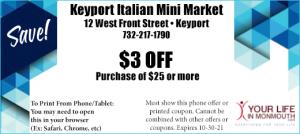 Keyport Italian Mini Market