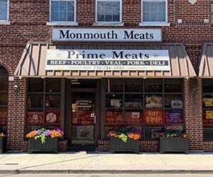Monmouth Meats butcher shop in Red Bank NJ